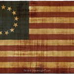 13 Star Betsy Ross Flag - Displacement