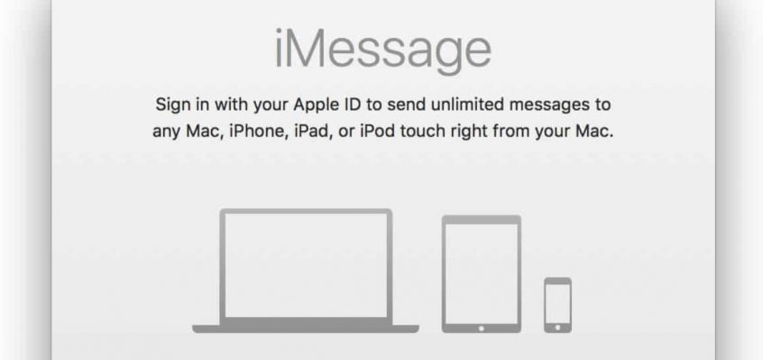 What to do if You Can't Log into iMessage on Mac OS X
