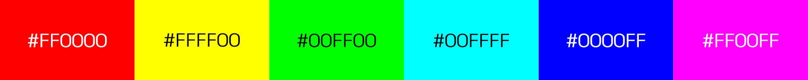 sRGB Color Primaries Test for Web Color Management