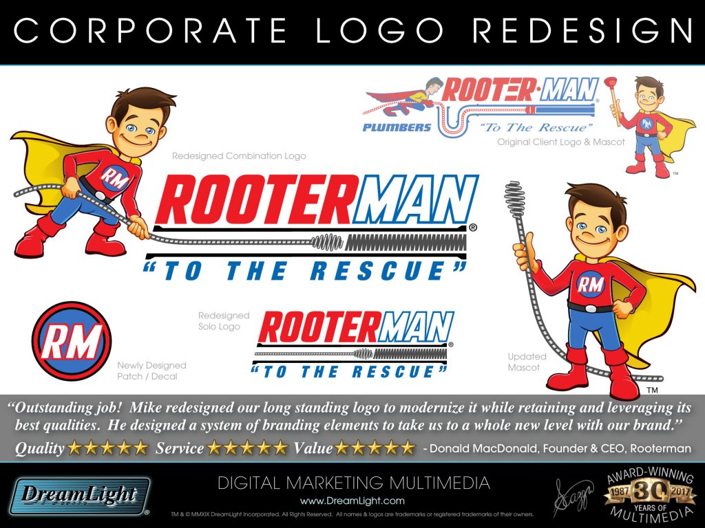 Corporate Logo Redesign and Branding Update