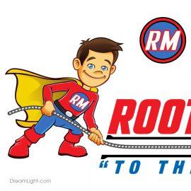 DreamLight Corporate Logo Redesign & Branding - Rooterman