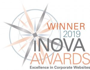 Winner 2019 iNOVA AWARD - Excellence in Corporate Websites