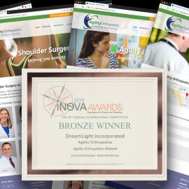 DreamLight Wins Web Design Award
