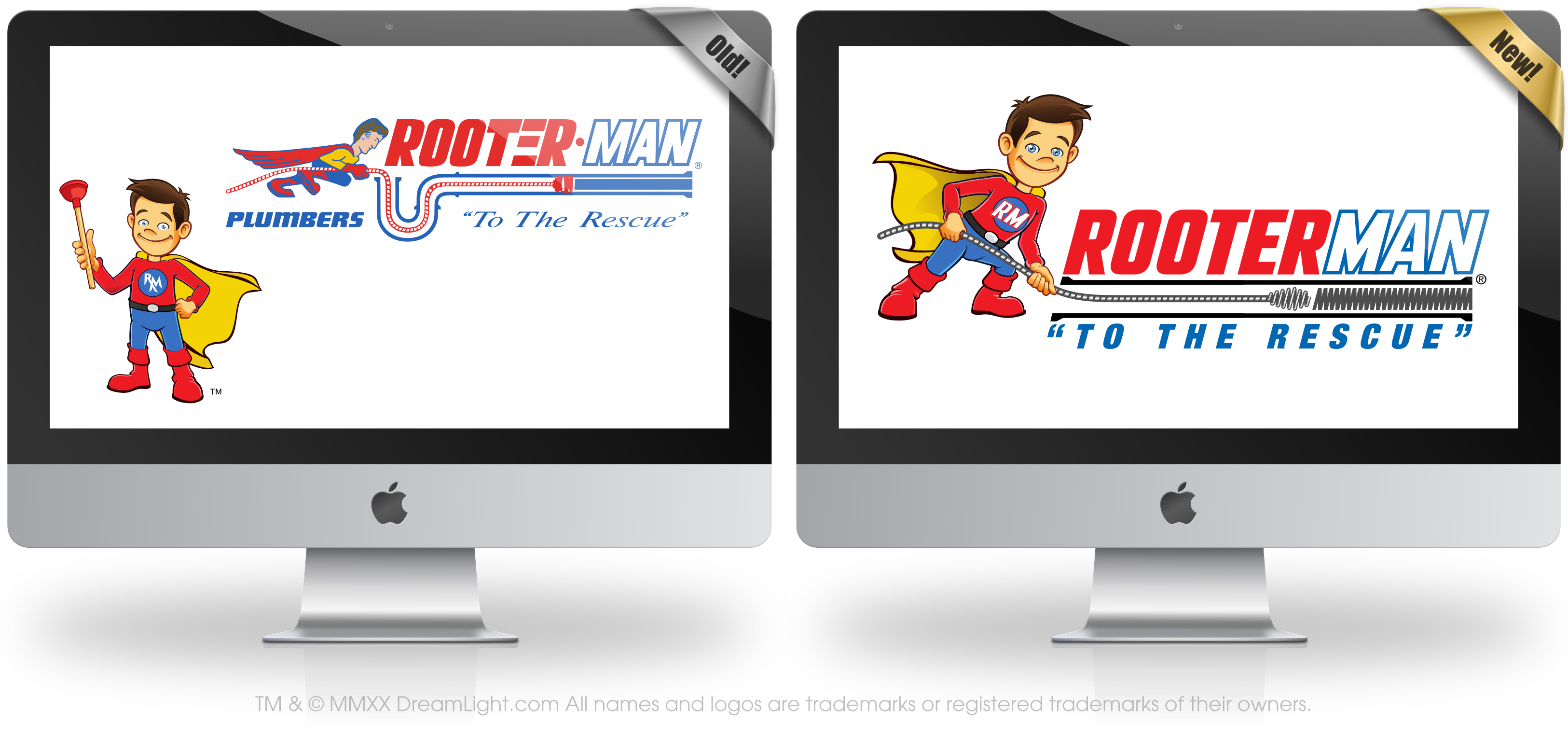 Logo Redesign - RooterMan