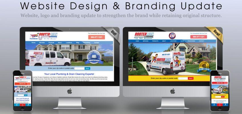 Website Redesign & Branding Update