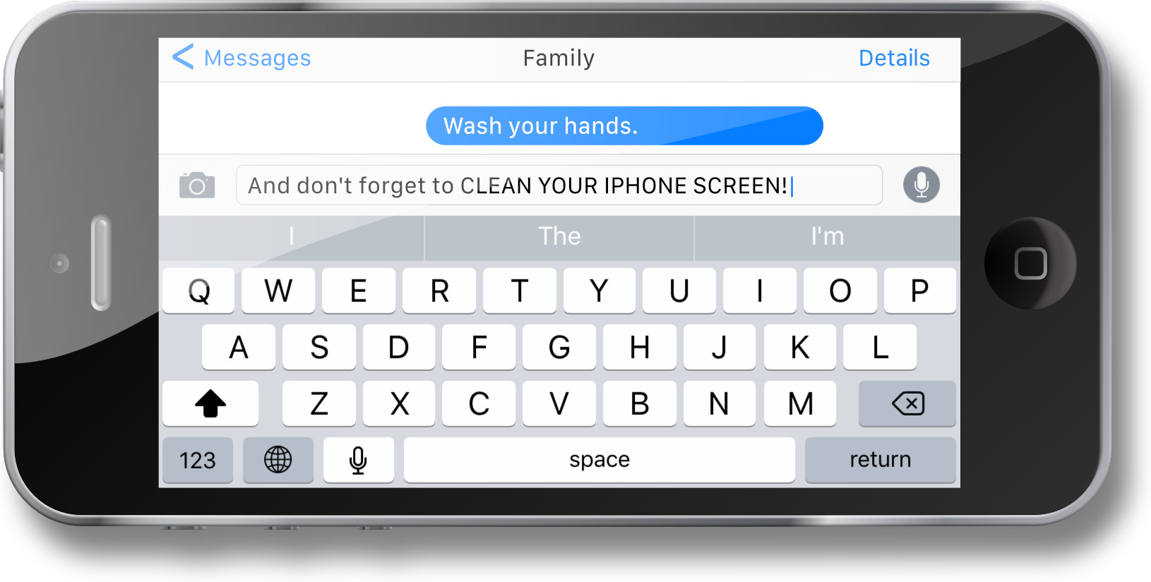 Wuhan Coronavirus COVID-19 - Mobile Device Screen Cleaning