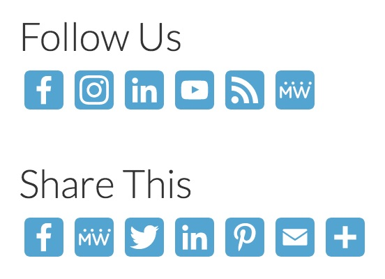 AddToAny Follow and Share Buttons