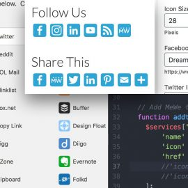 How to Add Social Media Share and Follow Buttons