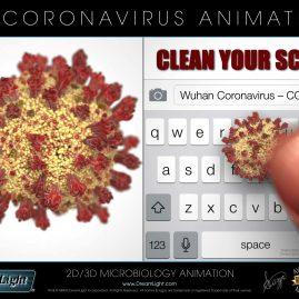 Virus Animation - 3D Coronavirus Animation - COVID-19 PSA