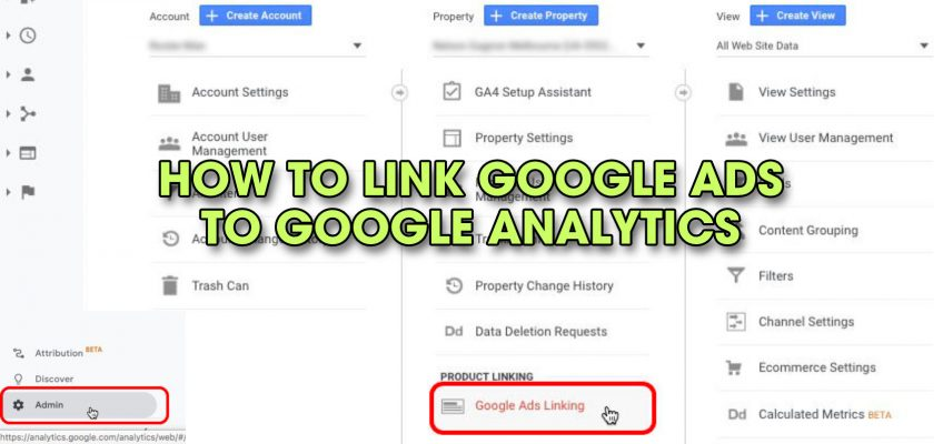 How to Link Google Ads to Google Analytics