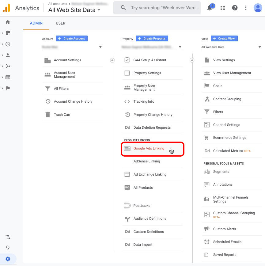 Google Ads Linking How to Link Google Ads and Google Analytics