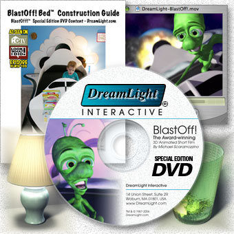 Award-winning 3D Animated Short Film-BlastOff! Special Edition DVD