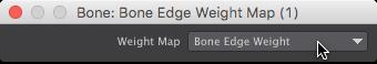 Bone Edge Weight Node