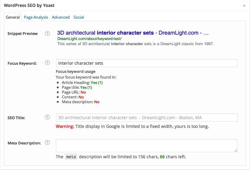 Hack Fix for Yoast WordPress SEO Plugin - Content: No