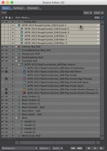 Scene Editor - Using Instances in LightWave 3D