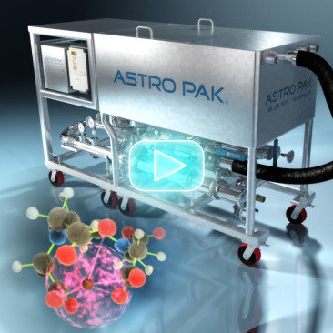 3D Product Animation and Process Animation for Astro Pak
