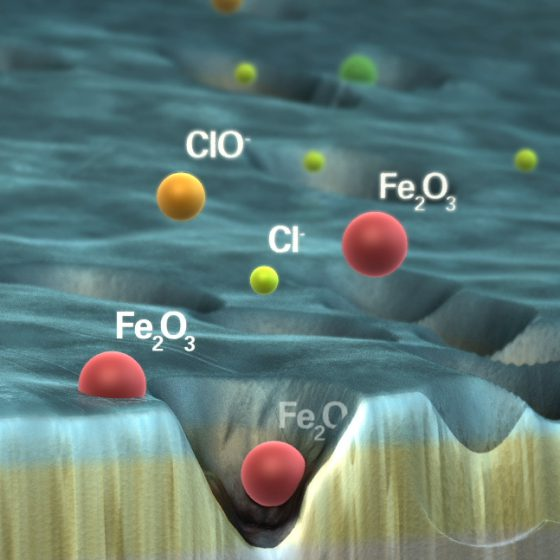 CGI Scanning Electron Microscopy SEM - Oxide Film Breakdown