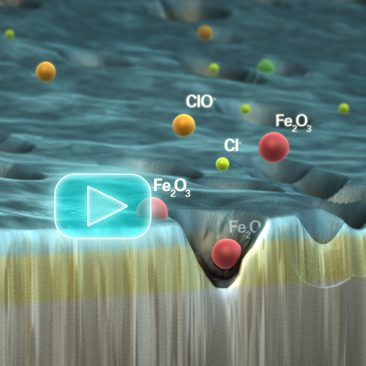 SEM Animation - Scanning Electron Microscopy - Oxide Film Breakdown