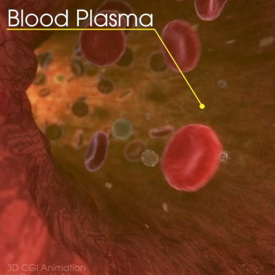 Blood Plasma Heartbeat Animation - 3D CGI Medical Animation
