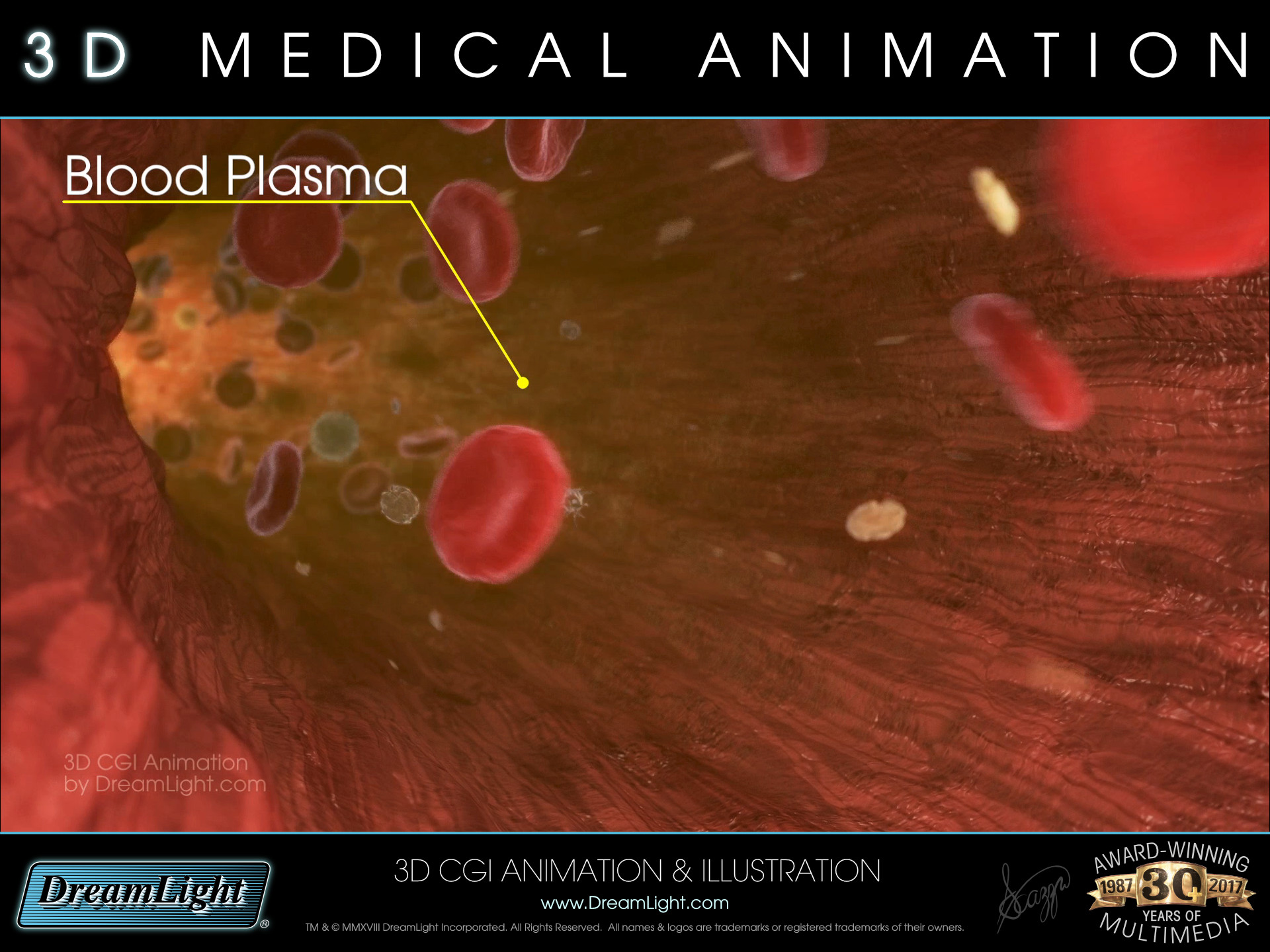 Red Blood Cell Animation - 3D Medical Animation - DreamLight
