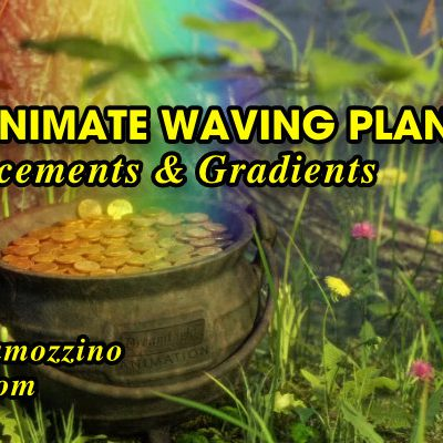 How to Animate Waving Plants with Displacements and Gradients