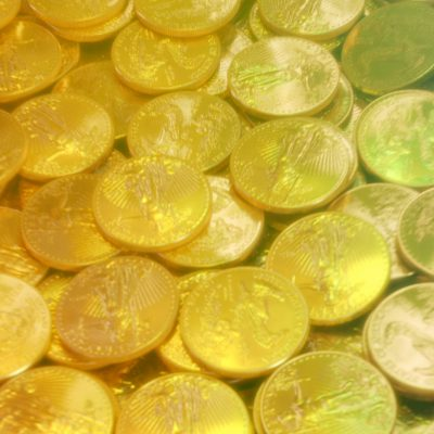 Pile of Gold Coins 2 - CGI Viral Video Ad - Heads or Tails