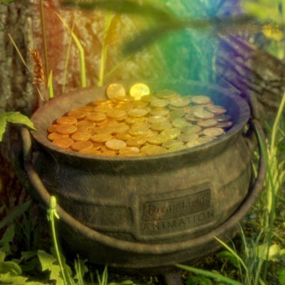 Pot of Gold Under Tree - CGI Viral Video Ad - Heads or Tails