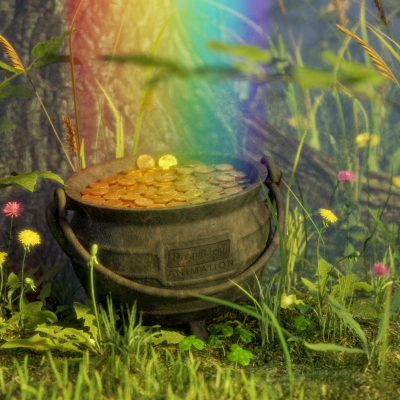Pot of Gold in Forest - CGI Viral Video Ad - Heads or Tails