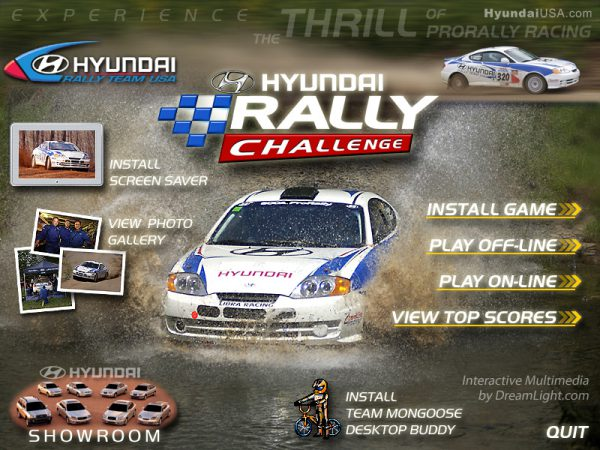 Interactive Multimedia Design - Road Rally