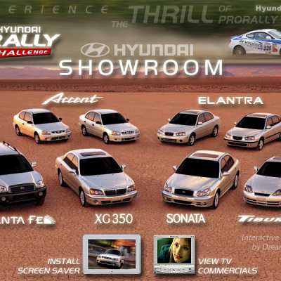 Interactive Multimedia Design - Auto Showroom