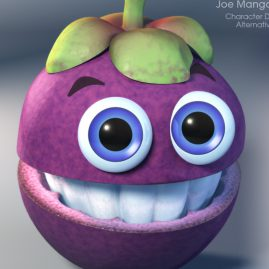 3D Character Design & Illustration - Joe Mangosteen