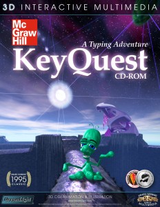 3D interactive edutainment multimedia - KeyQuest A Typing Adventure