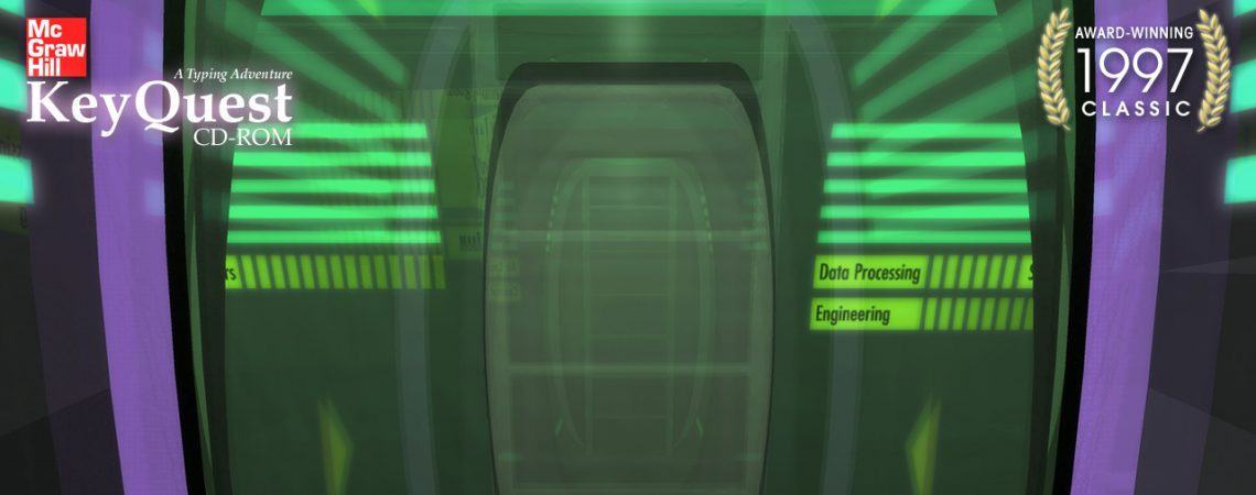 Entering the Ship's Corridor - 3D Interactive Edutainment Multimedia