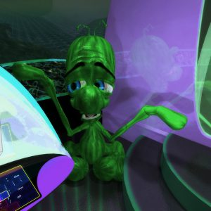 Alien Encounter - 3D Interactive Edutainment Multimedia