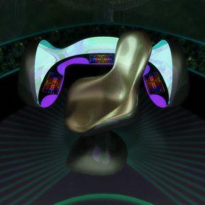 Bridge Console and Captain's Chair - 3D Interactive Edutainment Multimedia