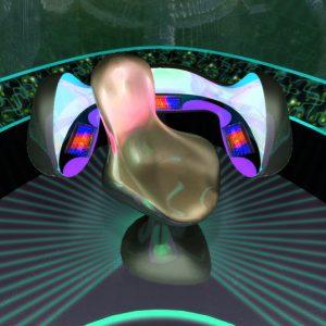 3D Space Ship - Control Room Bridge - 3D Interactive Multimedia - KeyQuest CD-ROM
