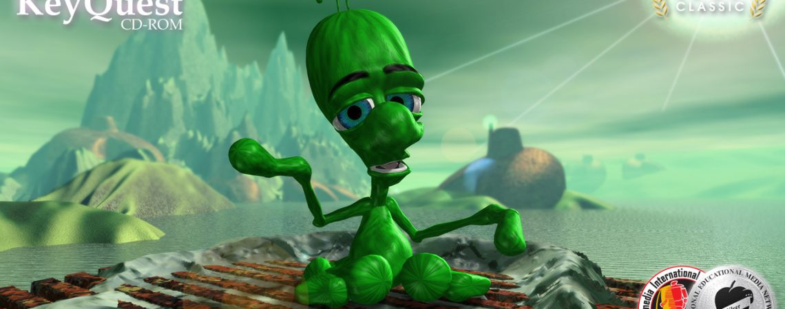 Face to Face Alien Encounter - 3D Interactive Edutainment Multimedia