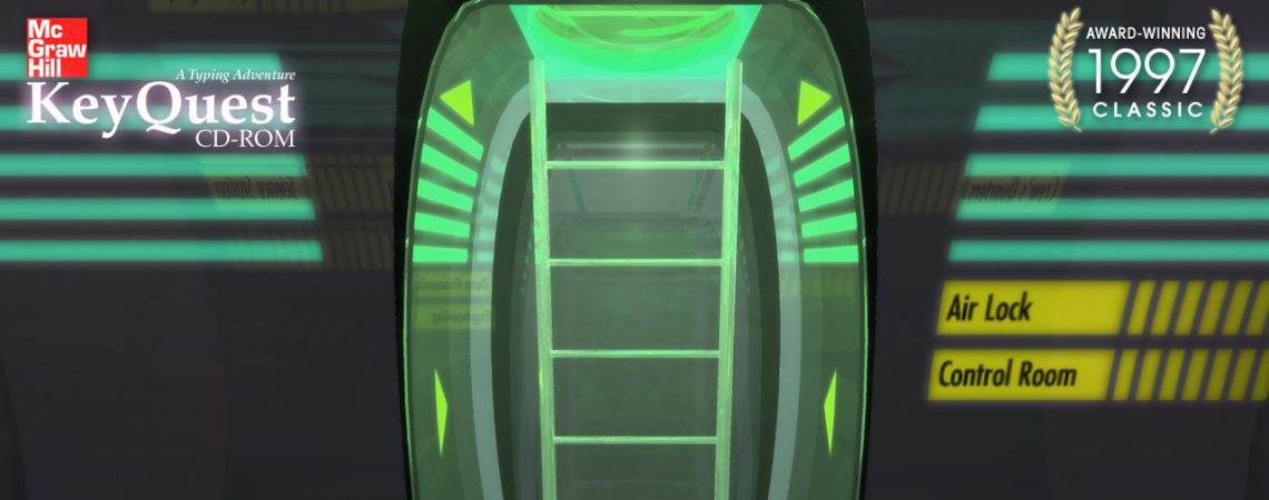 Airlock with rising ladder - 3D Interactive Multimedia CD-ROM