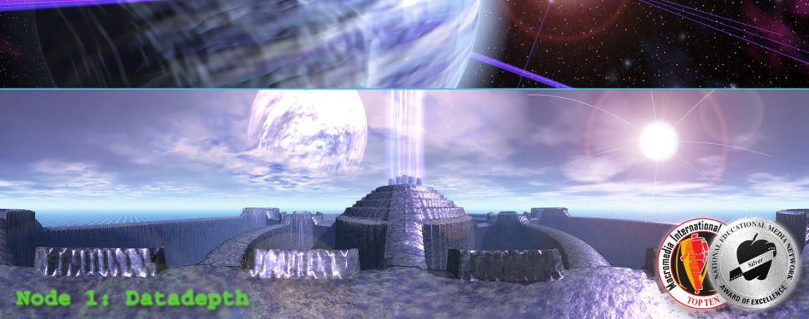Datadepth - Space Scene - Alien Landscape Panorama - 3D Interactive Multimedia CD-ROM