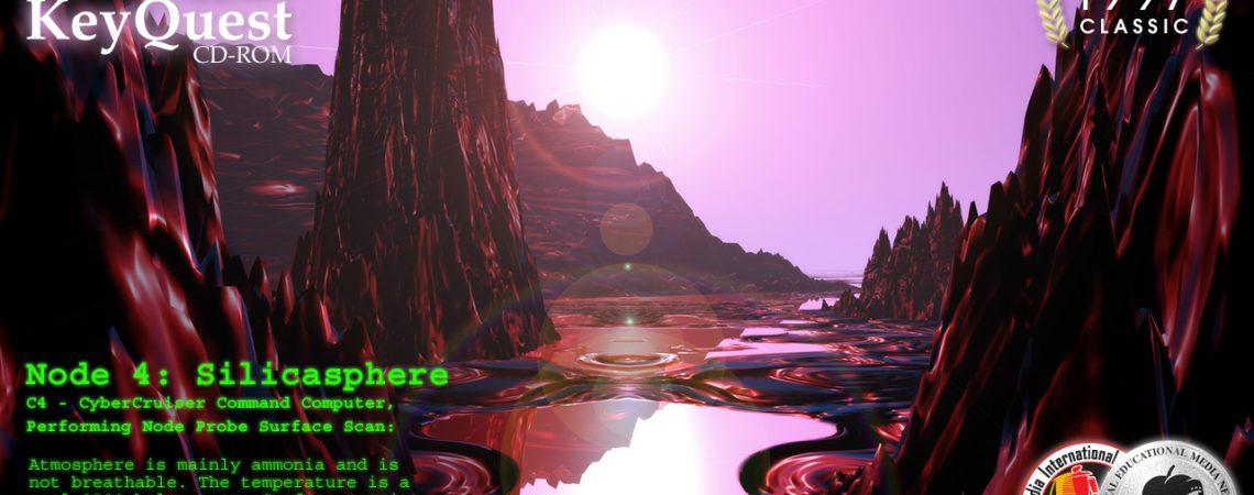 Alien Landscapes - Purple Planet - 3D Interactive Edutainment Multimedia