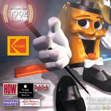 3D Character Design & Animation - Kodak Photo Editing Kiosk