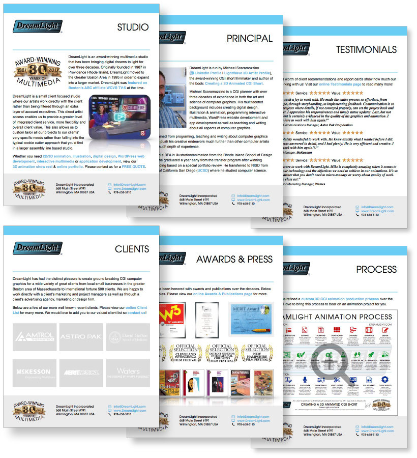DreamLight Media Kit Preview