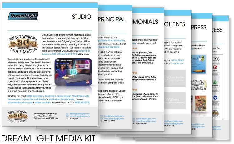 DreamLight Media Kit
