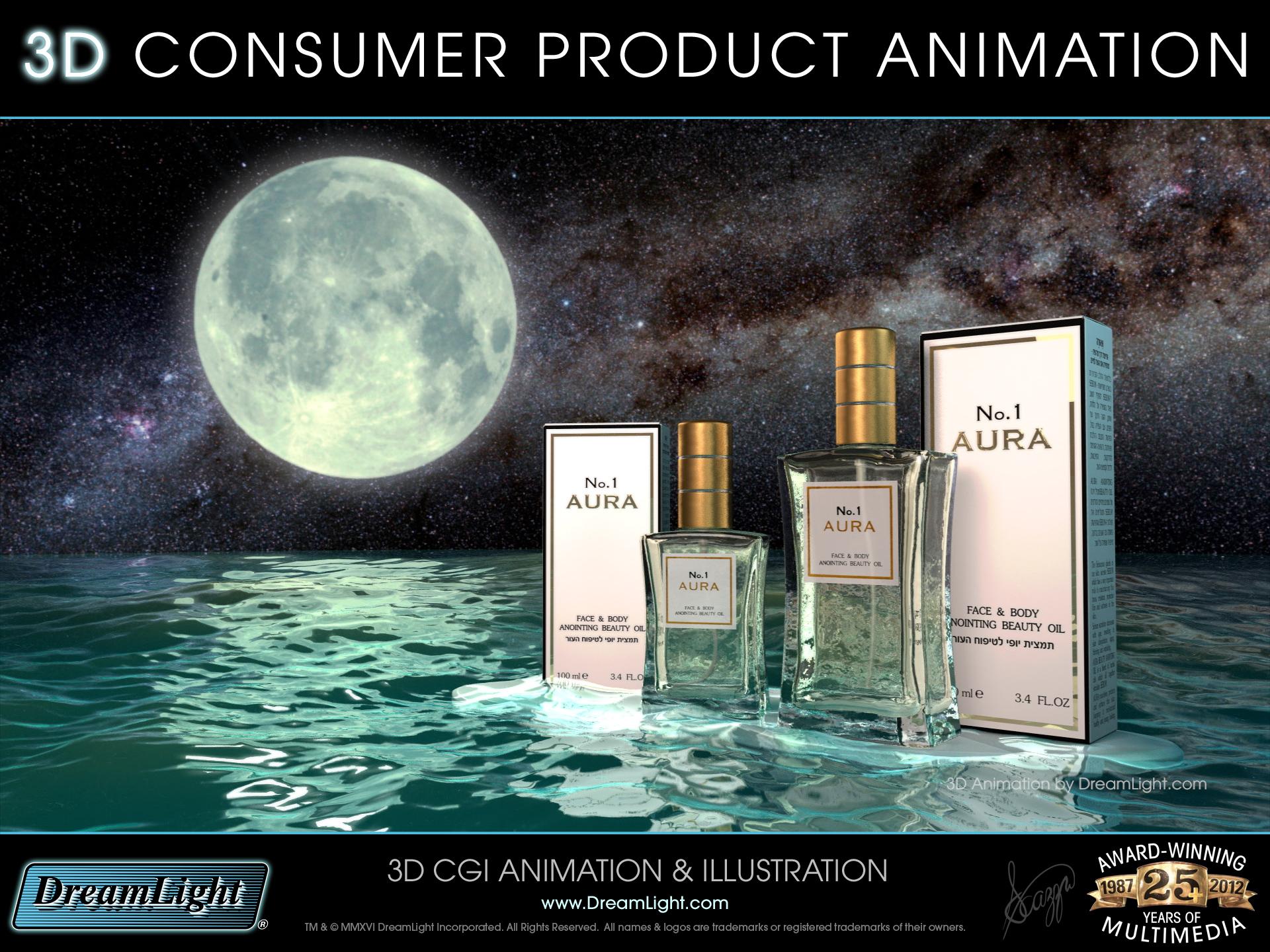 3D Consumer Product Animation - DreamLight com - Wilmington, MA