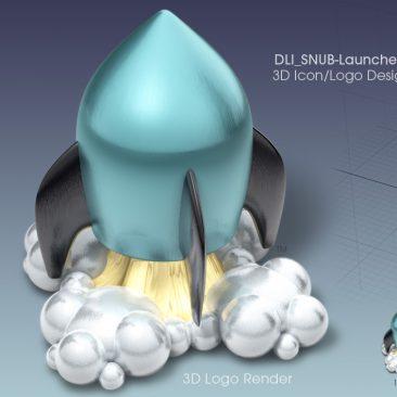 3D Icon Design & 3D Logo Design