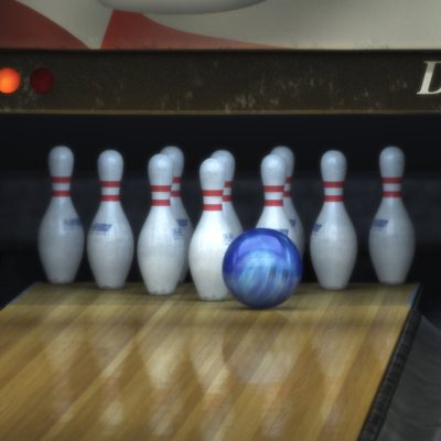 3D Animated Viral Videos - Trick Shot Video - Bowling Ball & Pins