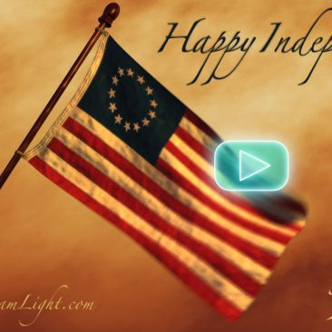 How to create a waving flag with LightWave 3D ClothFX - Happy Independence Day! July 4th - Spirit of 1776 - Social Media Marketing Memes