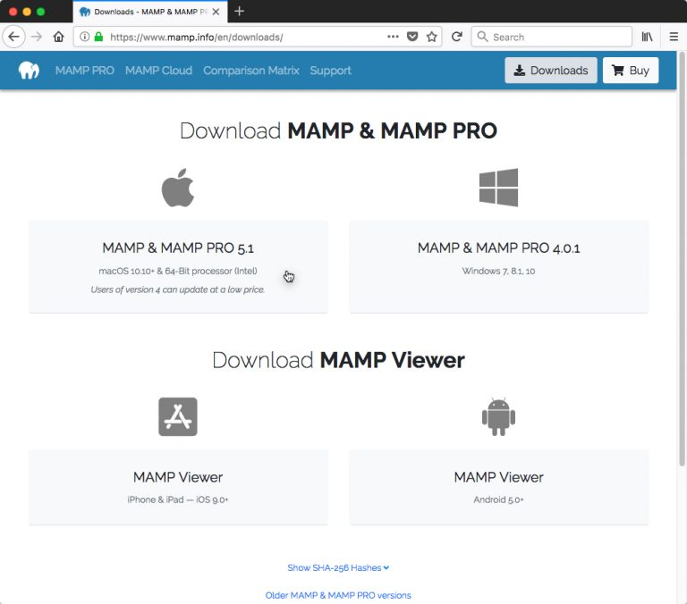 Download MAMP - How to Copy a Live WordPress Website to a Local Mac