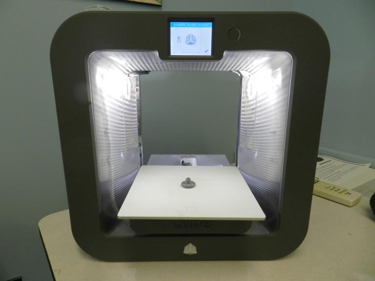 Custom 3D Printed Thumb Nut on Cube 3 3D Printer