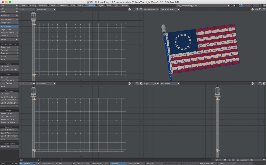 How to create a waving flag - 3D flag model